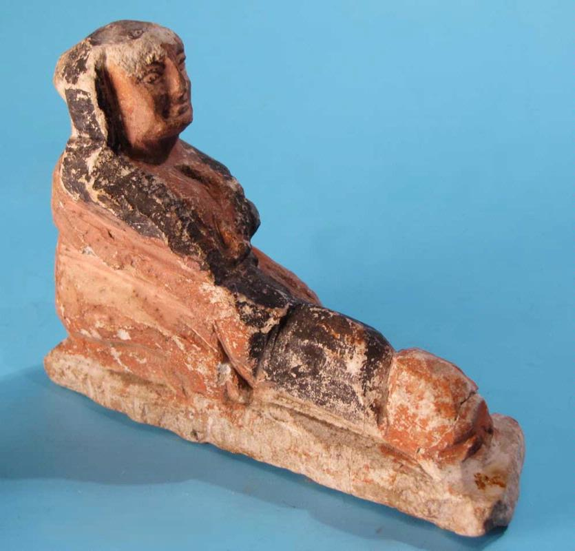 Egyptian Limestone Erotic Figure