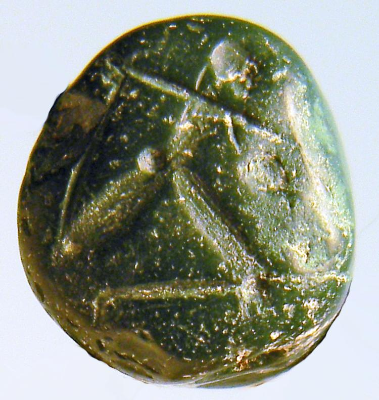 Persian Green Jasper Stamp Seal