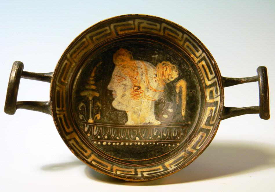 Apulian Greek Gnathia-Ware Kylix
