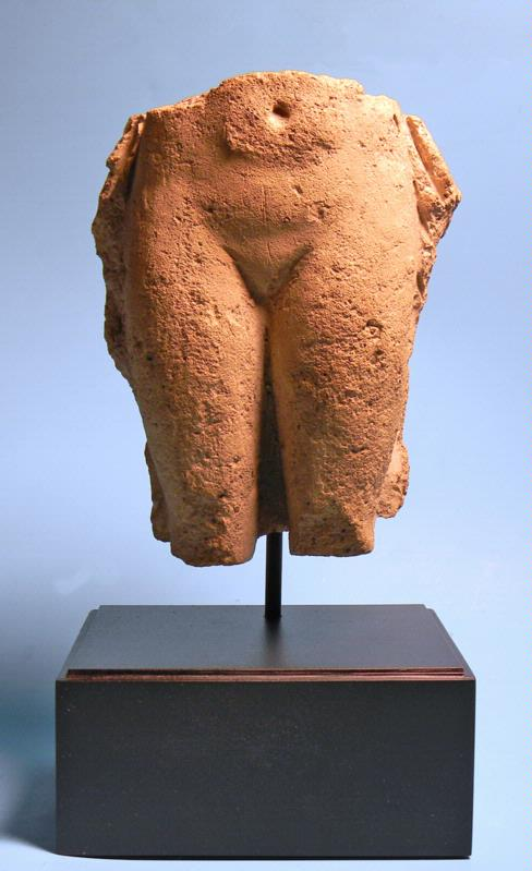 Old Babylonian Torso of Goddess Ereshkigal