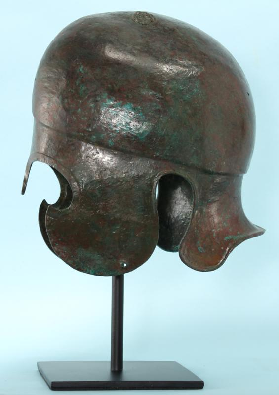 Greek Bronze Chalcidian Helmet