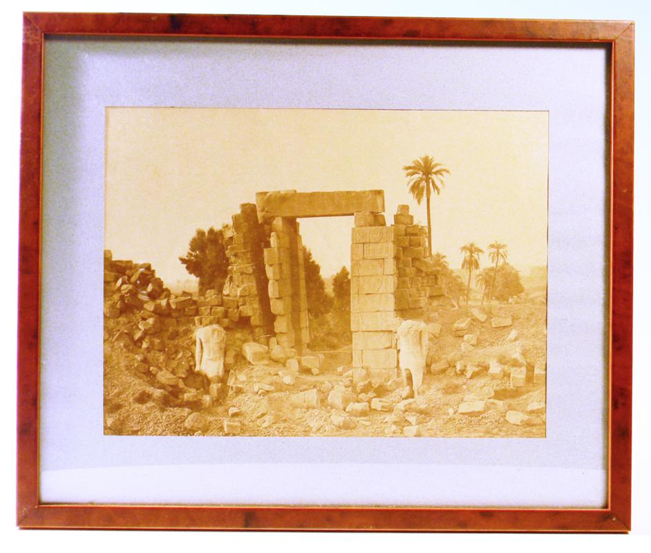Antonio Beato: Temples at Thebes