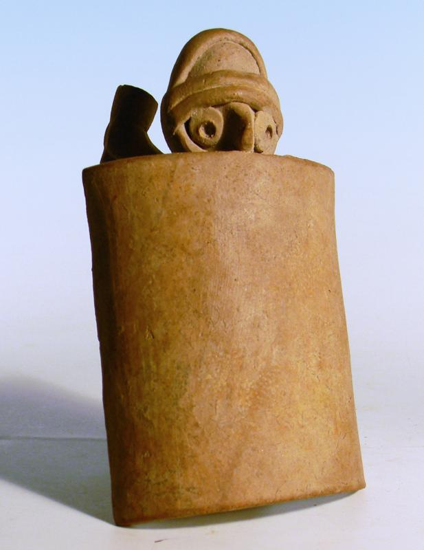 Colima Whistle in the Form of a Warrior