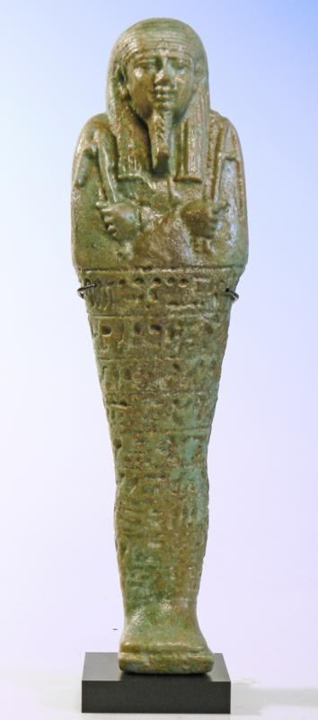 Egyptian Green Faience Ushabti
