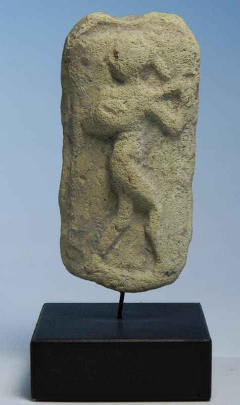 Old Babylonian Terracotta Plaque: Musician