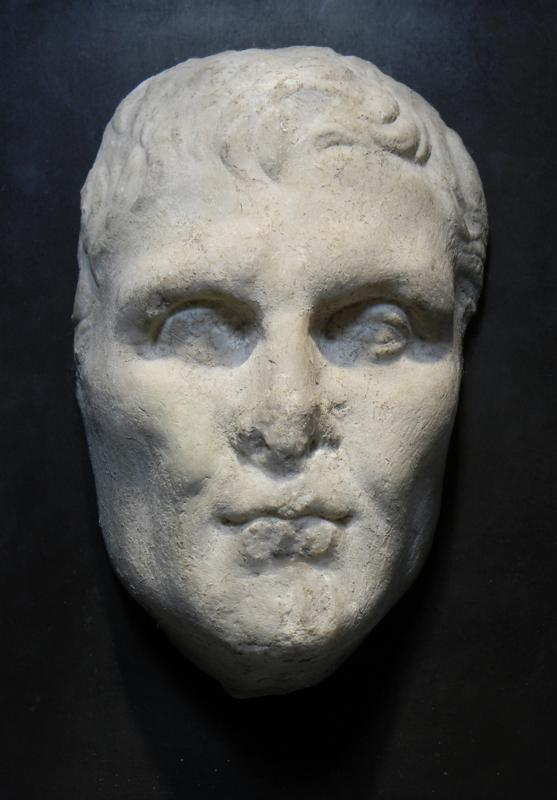 Roman Marble Portrait of the Comic Playwright Menander