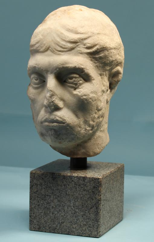 Roman Marble Portrait of a Man