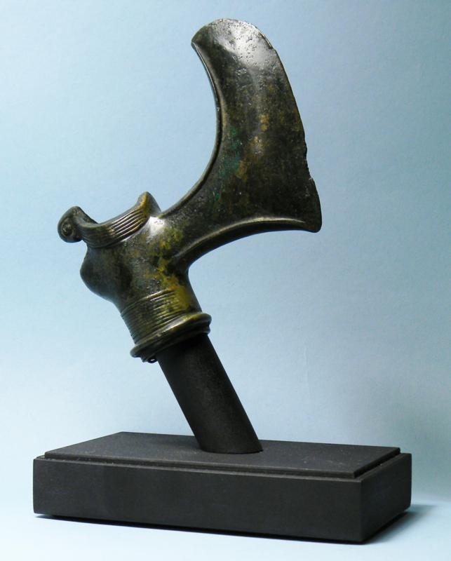Luristan Bronze Axe Head