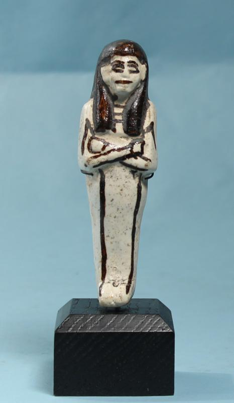 Egyptian White Faience Shabti