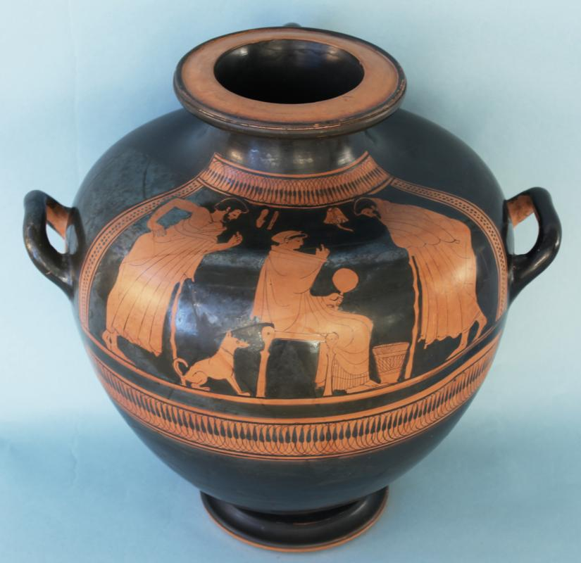 Attic Greek Red-Figure Kalpis