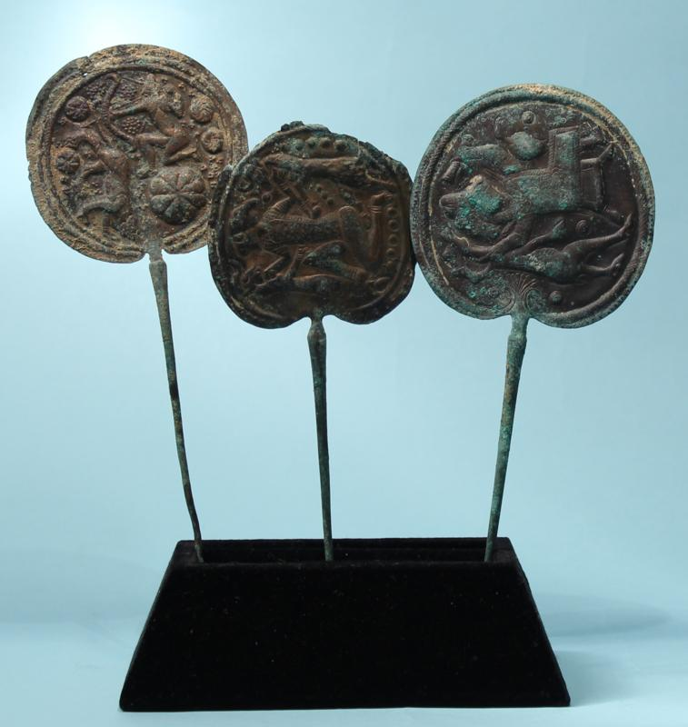 Three Urartian Bronze Pins