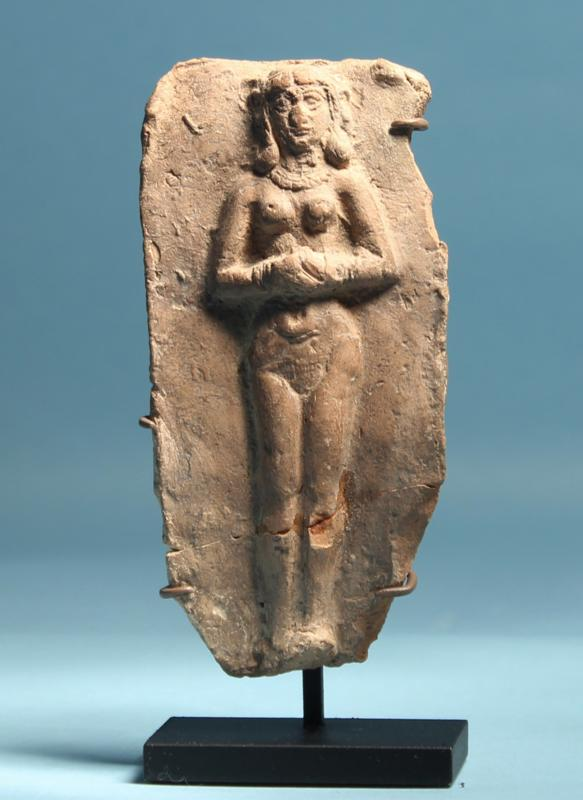 Old Babylonian Terracotta Plaque: Ishtar