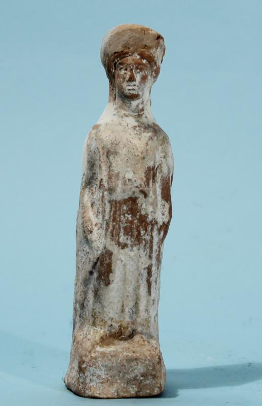 Greek Terracotta Standing Goddess