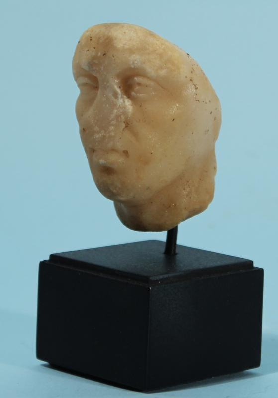 Roman Marble Head of a Man