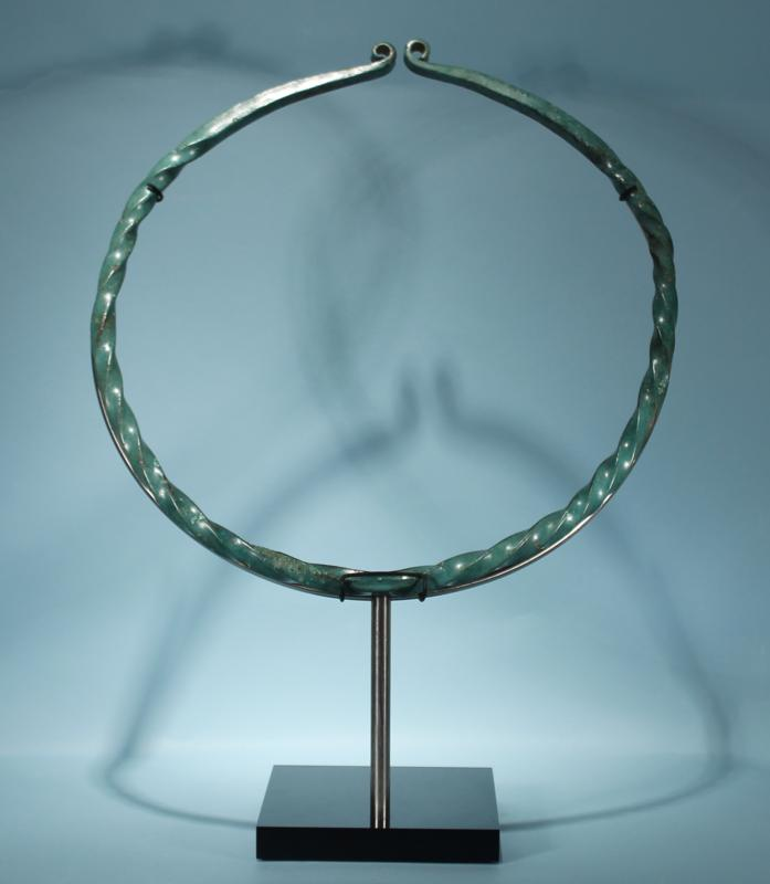 Large Celtic Bronze Torque