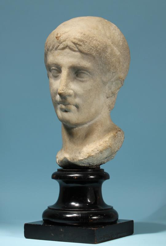 Roman Marble Portrait of a Julio-Claudian Prince