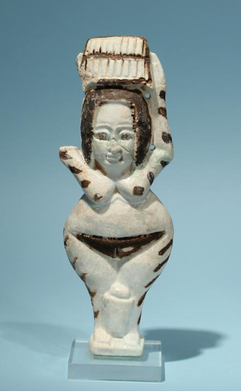 Egyptian Faience Female Figure