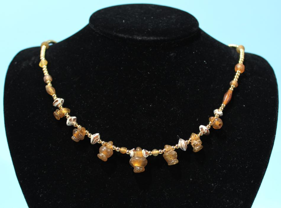 Byzantine Glass Necklace