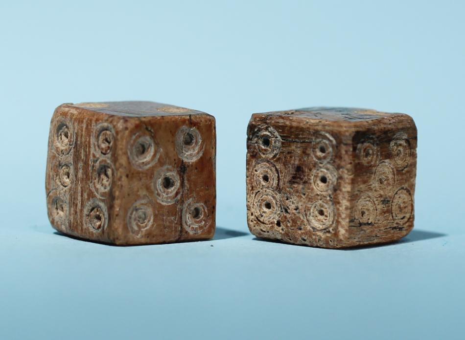 Pair of Roman Bone Dice