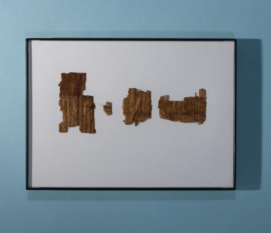 Four Greek Papyrus Fragments