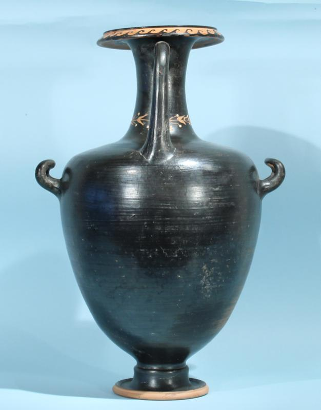 Apulian Black Glazed Hydria