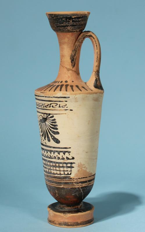 Attic Greek White-Ground Lekythos