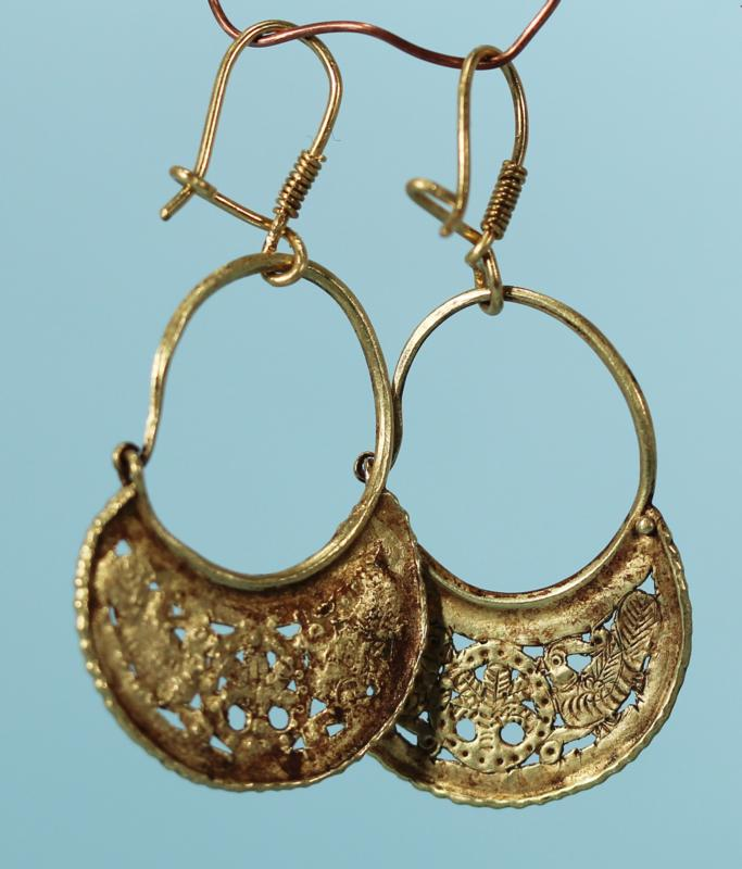 Byzantine Gold Earrings