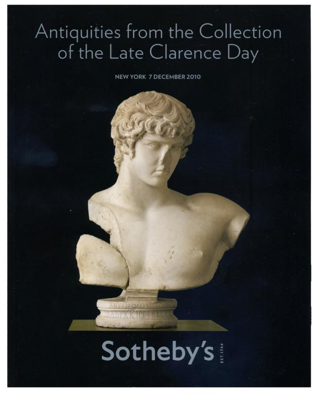 Sotheby's Auction Catalog, Sale # N08723, December 7, 2010