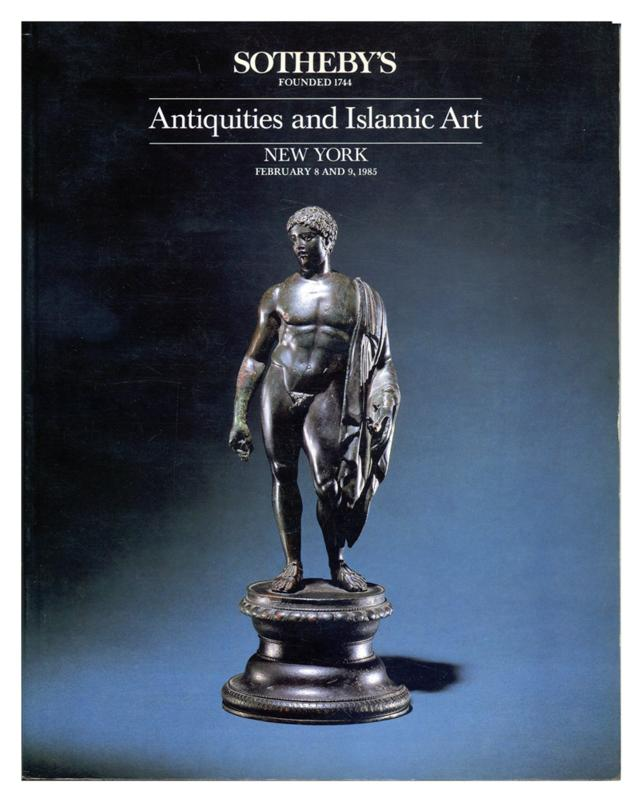 Sotheby's Auction Catalog, February 8 and 9, 1985 Sale # 5288