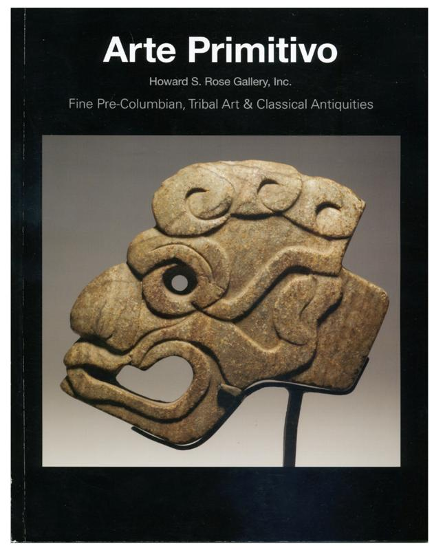 Fine Pre-Columbian, Tirbal Art & Classical Antiquities, Arte Primitivo, Sale 75, May 18, 2015
