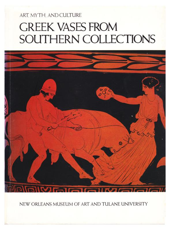 Greek Vases from Southern Collections (1981, Softcover)