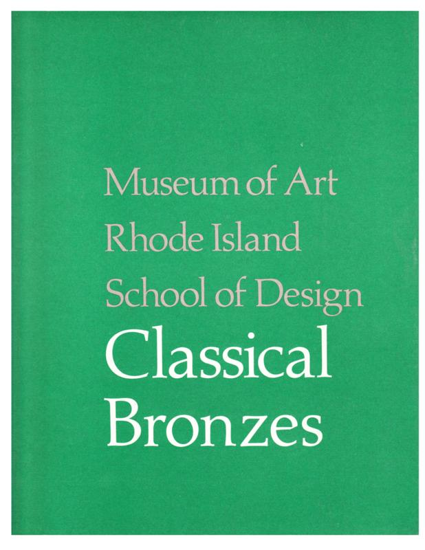 Classical Bronzes (1975, Softcover)