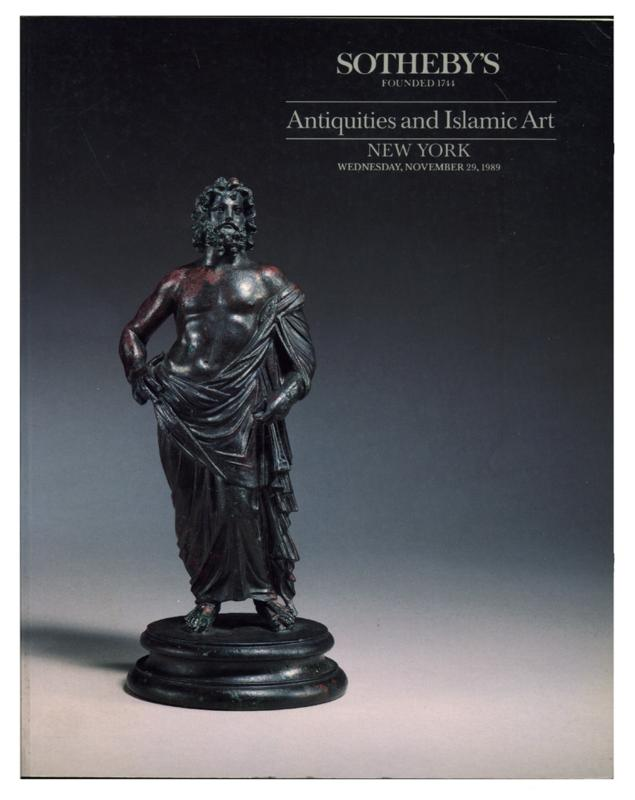Sotheby's Auction Catalog, November 29, 1989, Sale # 5940