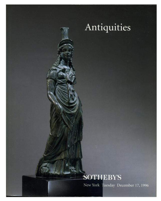 Sotheby's Auction Catalog, December 17, 1996, Sale # 6937