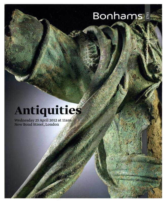 Bonhams Auction Catalog, April 25, 2012