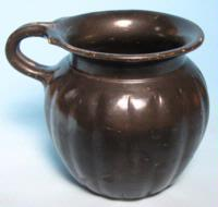 Apulian Black Glazed Mug