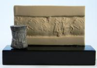 Syrian Terracotta Cylinder Seal
