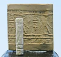 Egyptian Alabaster Cylinder Seal