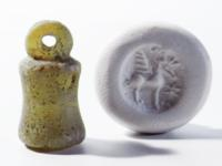 Syrian Alabaster Stamp Seal