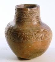 Nayarit Incised Pottery Jar