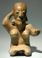 Jalisco Terracotta Seated Female