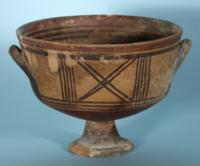 Cypriot Bichrome Chalice