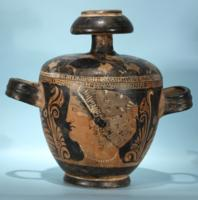 Sicilian Greek Red-Figure Pyxis