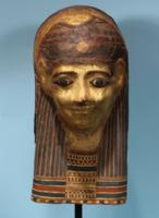 Egyptian Painted Mummy Cartonnage
