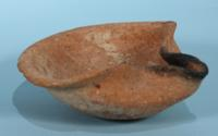 Large Judaean 'Pinched' Oil Lamp