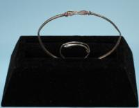 Roman Silver Snake Bracelet and Ring Set