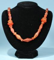 Canaanite Carnelian Bead Necklace