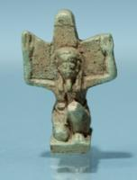 Egyptian Faience Amulet of Shu