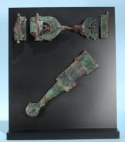 Iberian Bronze Dagger Sheath and Belt