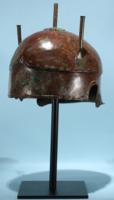 Greek Bronze Helmet: Chalcidian Type